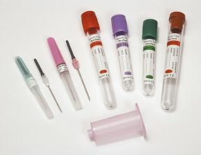 Пробирка вакуумная Rustech для взятия крови (для сыворотки) с активатором свертывания сгустка емк 9 мл