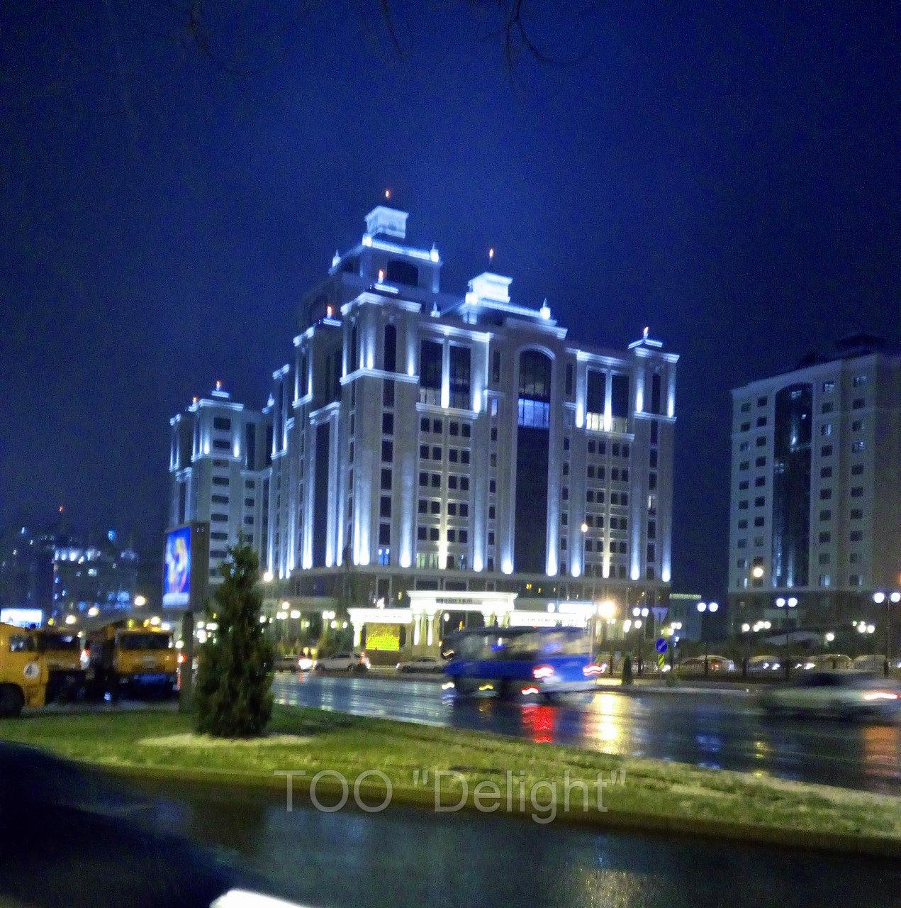 Архитектурное освещение г. Алматы Достык-Альфараби