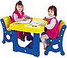 Детский столик с двумя стульями DS-905 от Haenim Toy