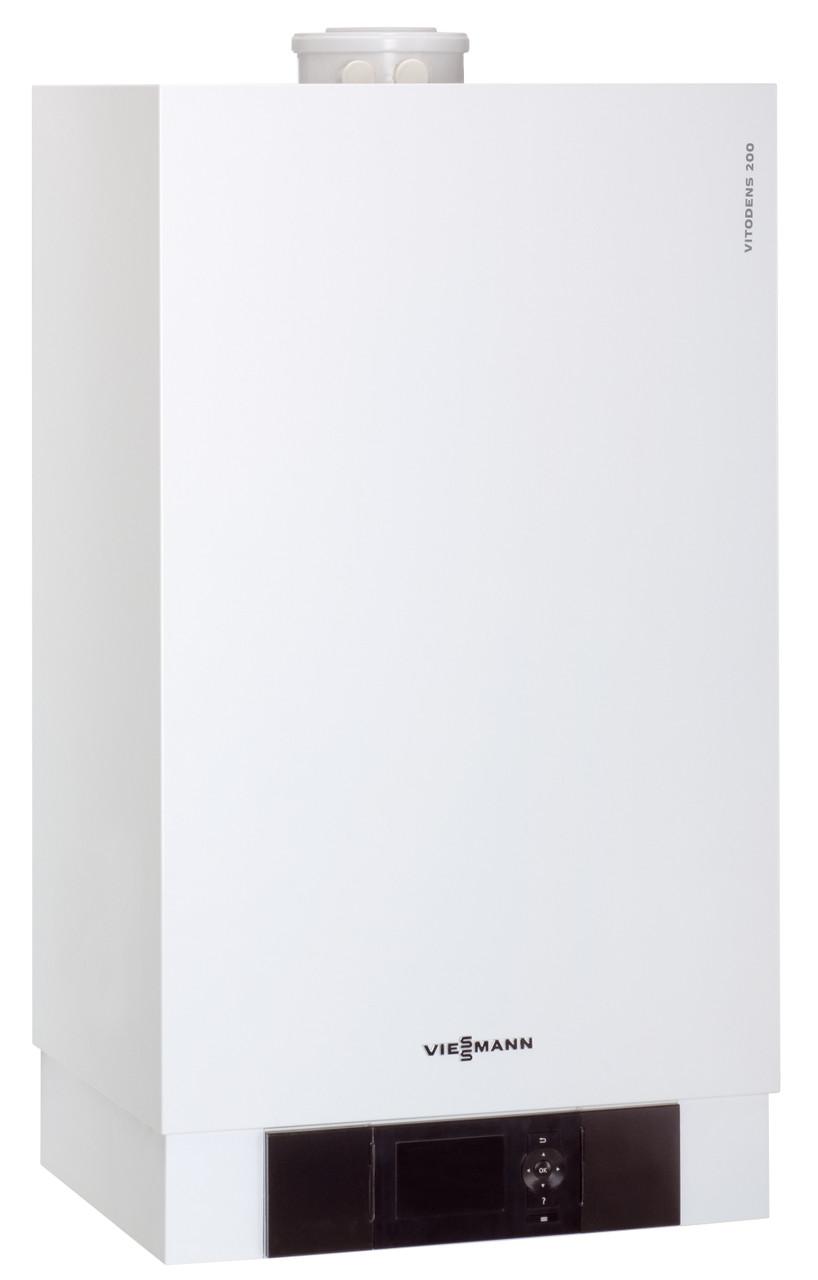 Настенный газовый конденсационный котел Viessmann VITODENS 200-W, (без дымохода), 120 кВт