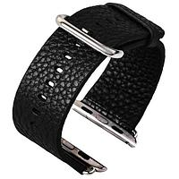 Ремешок For Apple Watch 38mm COTEetCI CS2030-BK Culture Lether Material Black