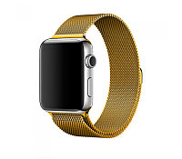 Ремешок For Apple Watch 42mm COTEetCI W6 WH5203-GD Magnet Band Gold