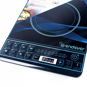 Индукционная плитка ENDEVER Skyline IP-28, 2000 Вт, 8 программ, таймер 24 часа, фото 2