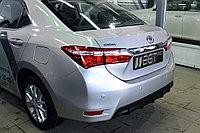 Диффузор на задний бампер Toyota Corolla 2013+