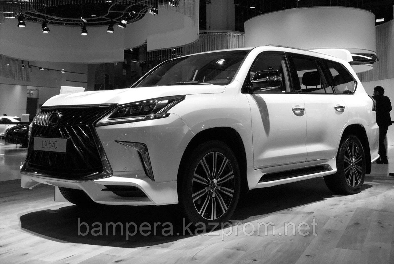 "Обвес ""Superior"" (пластик) для Lexus LX570/450D - Ксю Style - тюнинг автомобилей +7(707)22-33-112 (WhatsApp/Viber) в Актобе"