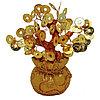 Денежное дерево в золотом мешке