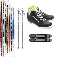 Лыжный комплект беговые лыжи, палки, крепления NNN, лыжные ботинки SPINE COMFORT 83 NNN