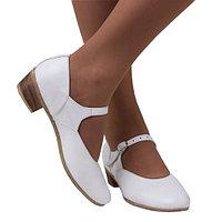 Туфли для народных танцев (белый)