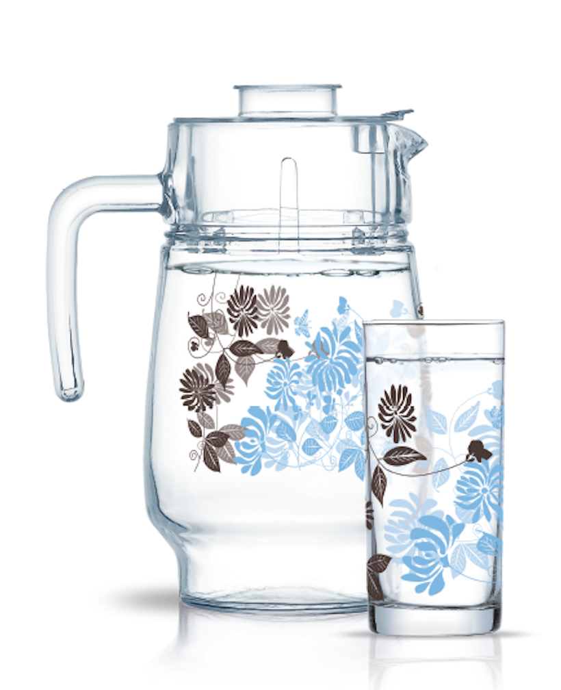 Набор питьевой Luminarc Tamako Brown 7пр.