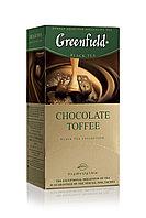 Greenfield Chocolate Toffee,black tea.25 пак