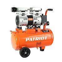 WO 24-160 PATRIOT Компрессор безмаслянный 160 л/мин, 1,1 кВт, 8 атм, 24 л, кол-во цилиндров/ступеней 2/1 шт, 19 кг