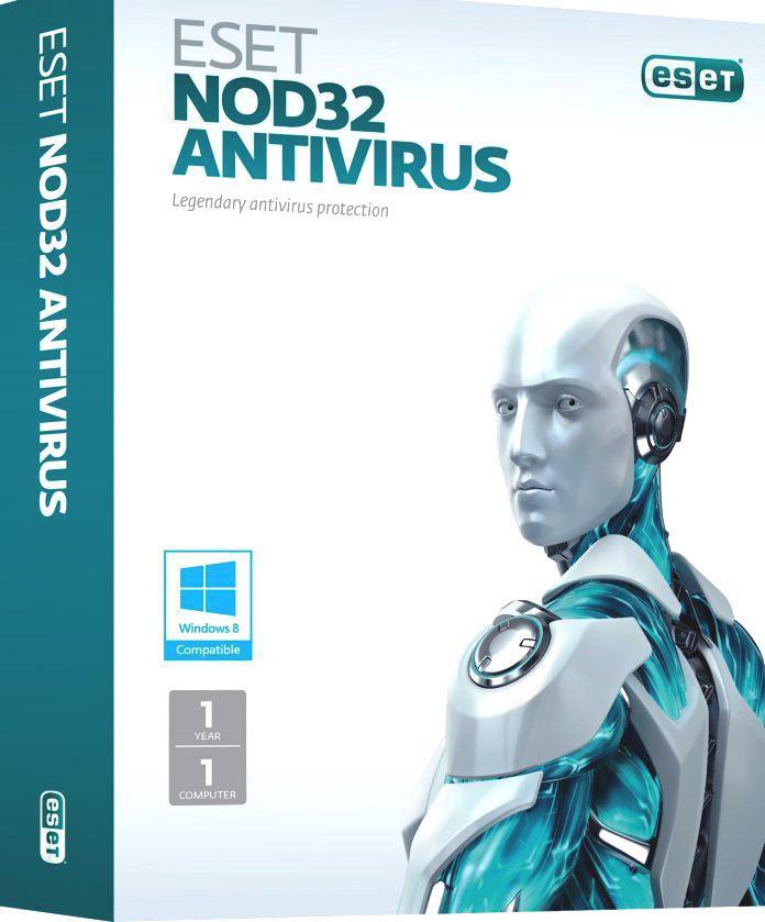 ESET NOD32 Антивирус 1 ПК / 1 год