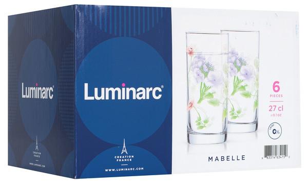 Набор стаканов Luminarc Mabelle (6 штук)