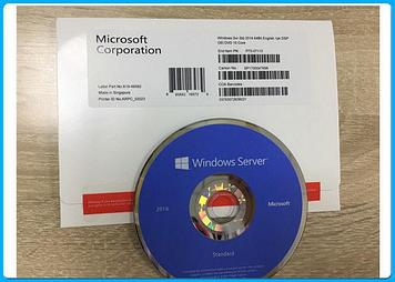 ПО Windows Svr Std 2016 64Bit Russian 1pk DSP OEI Kazakhstan Only DVD 16 Core