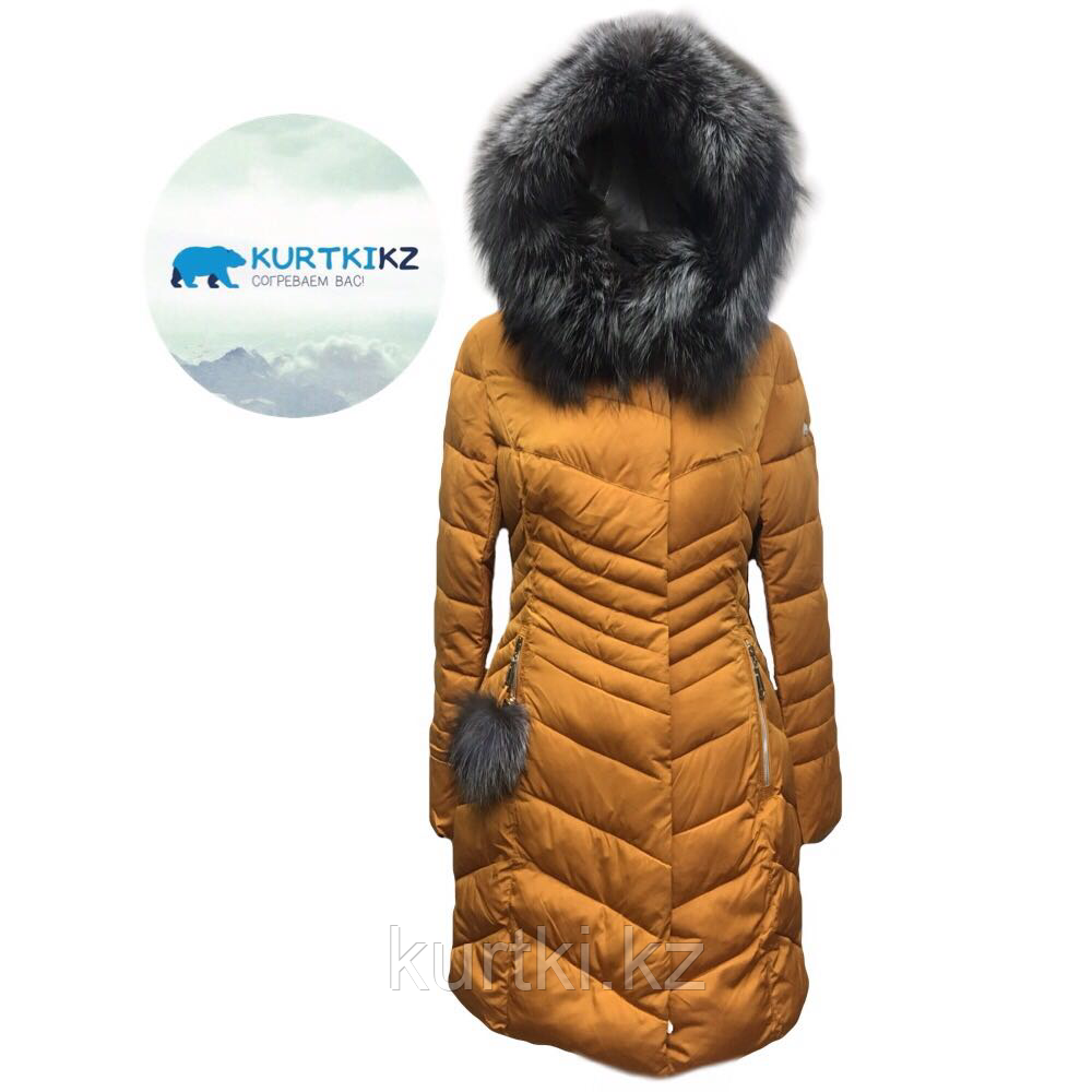 Куртка зимняя женская с мехом
