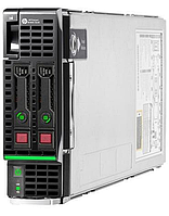 Сервер HP Enterprise BL460c Gen8 /2 x Xeon  E5-2680/128 Gb/P220i/2 x 300Gb/Без оптического привода