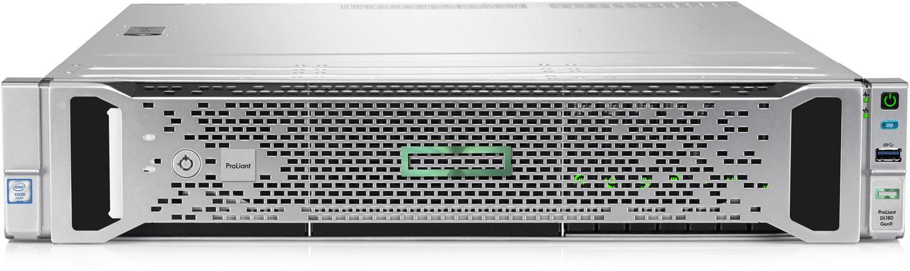 Сервер HP Enterprise DL180 Gen9  2U/1 x Xeon  E5-2620v4/16 Gb/2 x 300Gb/Без оптического привода /1 x 900W Gold