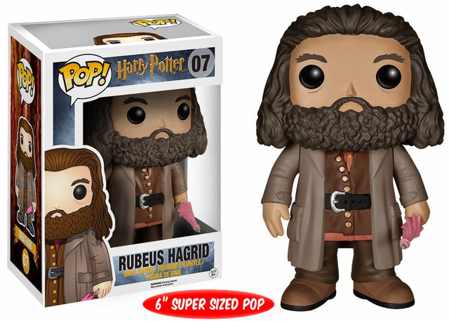"Фигурка ""Гарри Поттер – Рубеус Хагрид"" (#07 Harry Potter – Rubeus Hagrid Pop! Vinyl Figure)"