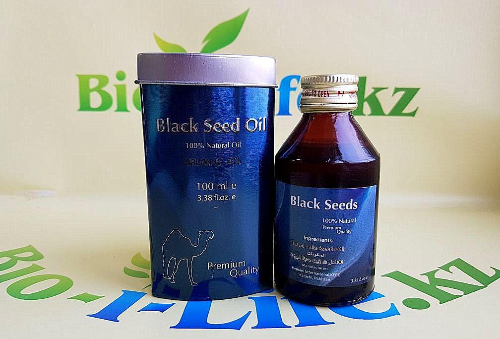 Масло черного тмина ( Black seed oil ) 100 ml.
