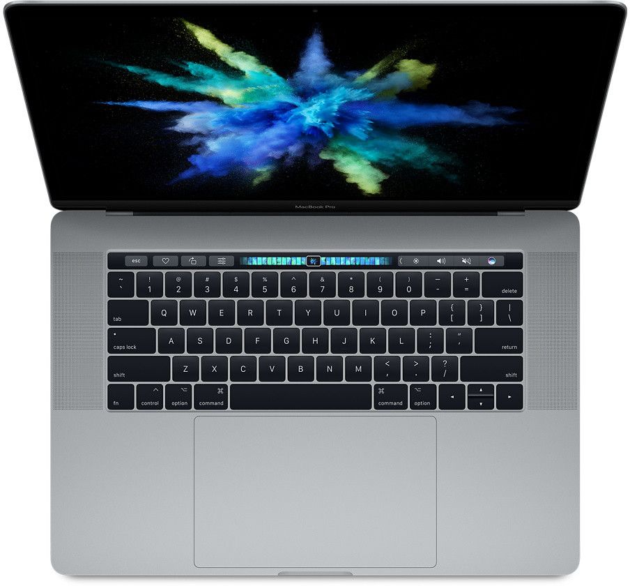 MacBook Pro MPTT2, 15-inch MacBook Pro with Touch Bar: 2.9 GHz dual core i7, 512GB, Space Gray