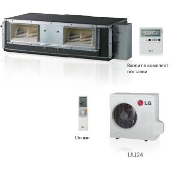 Кондиционер LG UB 36 канальный тип, фото 2