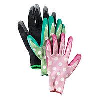 Перчатки садовые SPINDEL