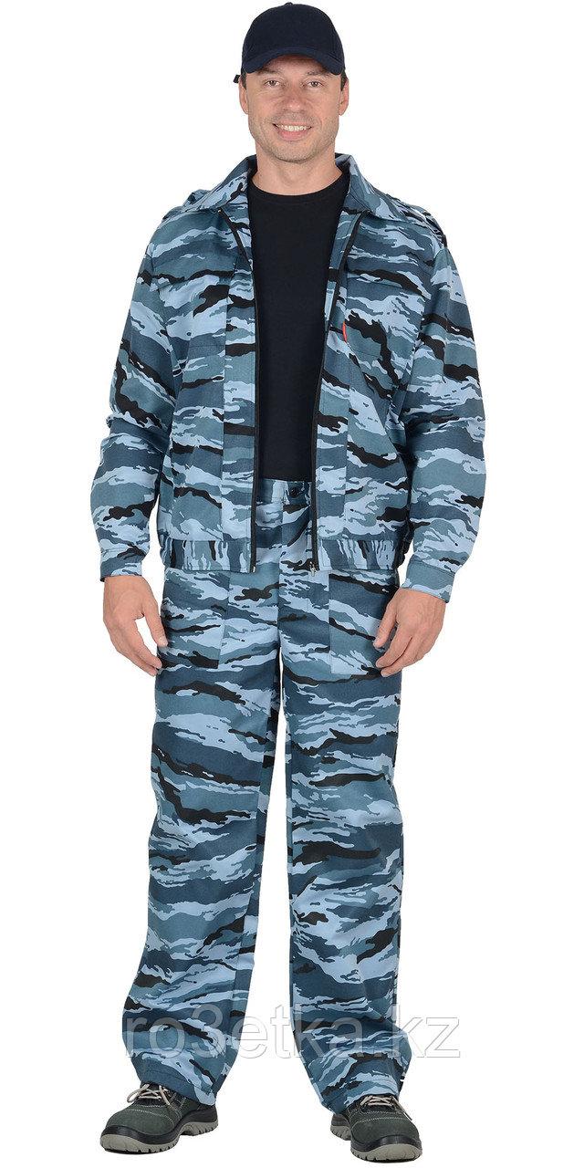 """Костюм """"ВЫМПЕЛ"""": куртка, брюки (тк. смесовая) КМФ серый вихрь"""
