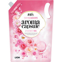 "CJ Lion Porinse Aroma Capsule Pink Rose Fabric Softener Кондиционер для белья ""Роза"" 2100 мл"