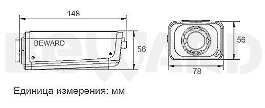 IP видеокамера B2.920F, фото 3