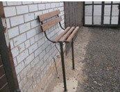 Лавка - сидушка с деревянной спинкой, фото 1