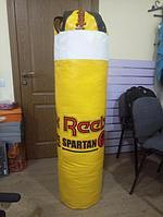Боксерский мешок (груша) Reebok баннер, опилки, 130 см