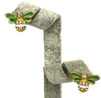 "Серьги ""Пчелка Майя"", фото 1"