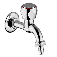 """TRADIZIONALE 1/2"""" Wall mounted tap with hose connector"""