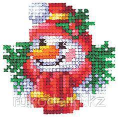 """Набор для вышивания крестом """"Новогодние игрушки. Снеговик"""""""