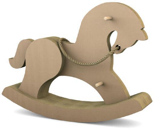 Лошадка-качалка для детей и взрослых (макси) КРАФТ