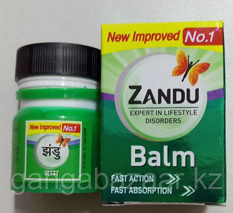 Индийский болеутоляющий бальзам Занду (Zandu)