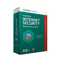 Антивирус Kaspersky Internet Security 2016 Box 2-Desktop Base (Первичная лицензия)