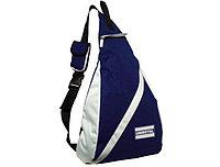 Рюкзак с карманом для мобильного телефона синий
