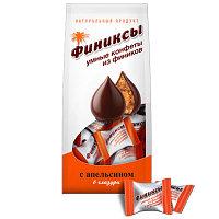 """""""ФИНИКСЫ"""" С апельсином в шоколадной глазури, конфеты 180 гр., дой-пак"""