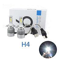LED/Светодиодные Лампы C6 Цоколь H4