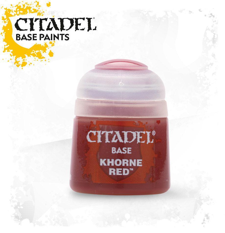 АКСЕССУАРЫ ВАРХАММЕР: Баночка с краской: Красный Кхорн (Paint Pot: Khorne Red)