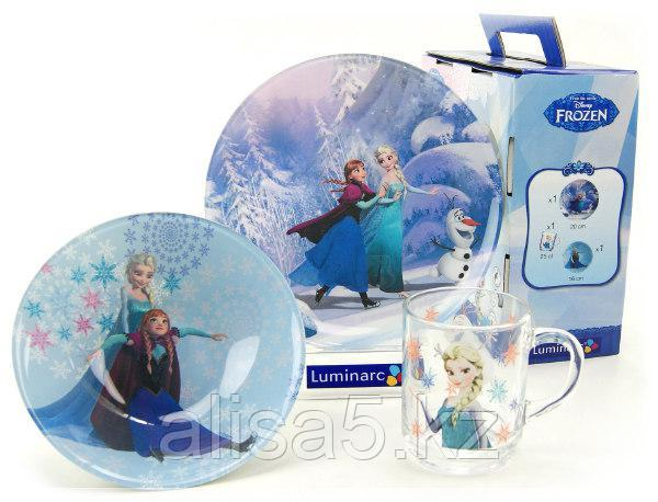 Детcкий набор Luminarc Frozen 3 предмета
