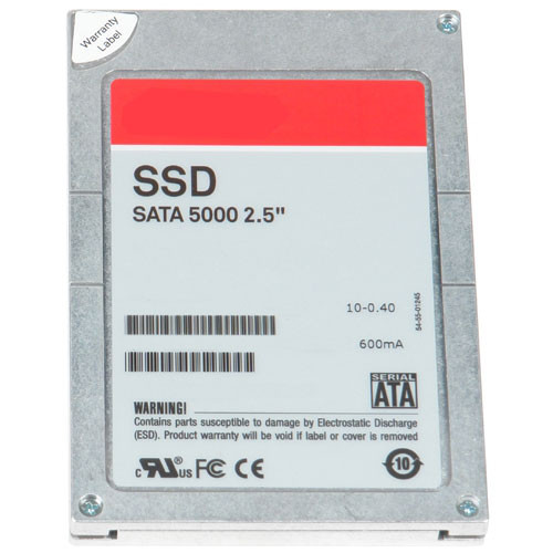 SSD накопитель DELL 2NY62 HYBRID 800GB SATA READ INTENSIVE MLC 3GBPS 2.5INCH (3.5IN HYB CARRIER) INTERNAL SOLID STATE DRIVE FOR DELL POWEREDGE SERVER.