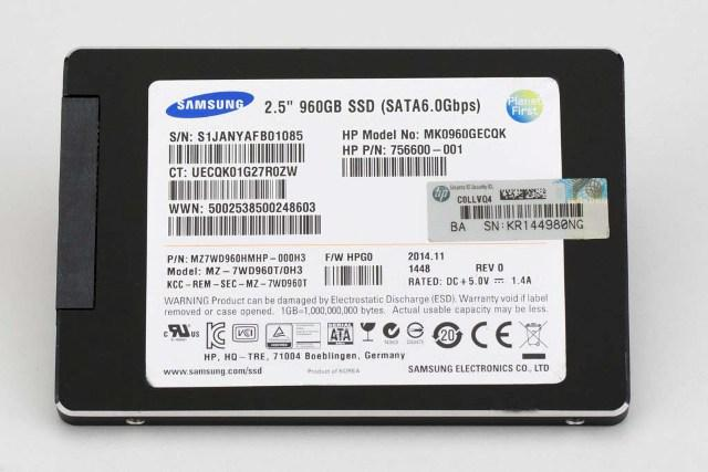 SSD накопитель SAMSUNG MZ7WD960HMHP-000H3 960GB SATA-6GBPS LIGHT ENDURANCE SFF 2.5-INCH SC ENTERPRISE LIGHT PLP SOLID STATE DRIVE (DUAL-LABEL /