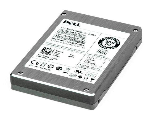 SSD накопитель DELL 24XV8 200GB 2.5INCH FORM FACTOR SATA-3GBPS INTERNAL SOLID STATE DRIVE FOR DELL POWEREDGE SERVER. BRAND NEW.DELL 24XV8 200GB