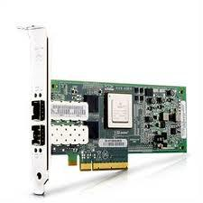 DELL QLE8152-DELL 10GB DUAL PORT PCI-E COPPER CNA HOST BUS ADAPTER WITH STANDARD BRACKET CARD ONLY. SYSTEM PULL.