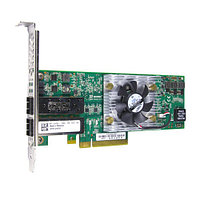 DELL QLE8262-DELL 10GB DUAL-PORT PCI-E X8 CNA ADAPTER FOR МОЩНОСТЬEDGE BLADE SERVER. SYSTEM PULL.