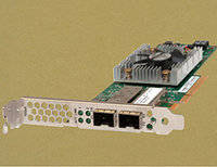 DELL CU0310414-11-DELL CNA 10GB/S DUAL PORT PCI-E 2.0 X8 (2) TWO SFP+ TRANSCEIVER PORTS ETHERNET TO PCIE CONVERGED NETWORK ADAPTER.