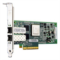 DELL 18GJR 10GB QLE8152 DUAL PORT PCI-EXPRESS FCOE CONVERGED COPPER HOST BUS ADAPTER WITH STANDARD BRACKET. SYSTEM PULL.