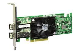 DELL HK4NC OCE14102-UX-D 10GBE DUAL PORT PCI-E 3.0 X8 CONVERGED NETWORK ADAPTER.